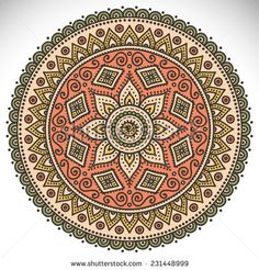 Flower Mandala Stock Photos, Images, & Pictures | Shutterstock