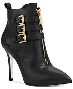 MICHAEL Michael Kors Boots, Brena Zip Up Booties - Boots - Shoes - Macy's