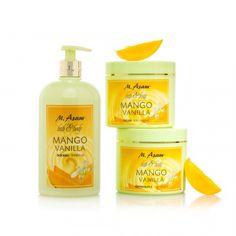 MANGO VANILLA 3-TLG. KÖRPERPFLEGE-SET Mango, Shops, Vanilla, Personal Care, Beauty, Bottle, Manga, Beleza, Tents
