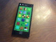 I phone de cuentas Perler By Jorge Rm