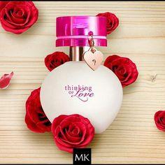 Nueva Fragancia Thinking Of Love de Mary Kay. Me encanta un regalo muy original con un colgante de regalo