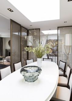LONDRES - EATON PLACE - DUPLEX | LONDON - EATON PLACE - DUPLEX Jean Louis Deniot dining room