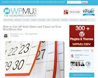 How to Get AP Style Dates and Times on Your WordPress Site