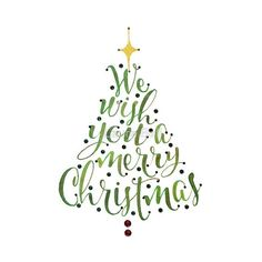 calligraphy christmas cards ideas - Google Search