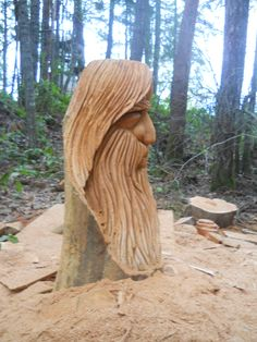 How to Build Your Own Oscillating Spindle Sander - Artistic Wood Products Chainsaw Wood Carving, Wood Carving Faces, Tree Carving, Wood Carving Art, Wood Art, Chain Saw Art, Scrap Wood Crafts, Whittling Wood, Tree Sculpture