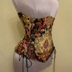 SCANDALOUS Steampunk, Medieval, Victorian or Renaissance Under-Bust Corset - by LoriAnn Costume Designs - Custom Size