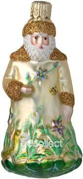 Miniature Rainforest Santa (Gold) Patricia Breen Designs