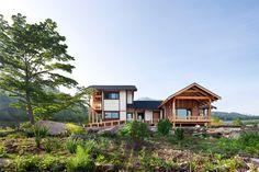 studio gaon peaceful house on the hill geochang designboom
