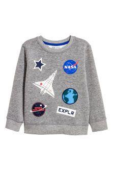 Sweatshirt Kids Fashion Boy, H m Fashion, Buy Buy Baby, Saum, Printed  Sweatshirts 216a23eca2