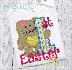 Baby Kay's Appliques - 1st Easter Bunny Girl 4x4, 5x7, 6x10, 8x8, $1.50 (http://www.babykaysappliques.com/1st-easter-bunny-girl-4x4-5x7-6x10-8x8/)