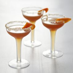 A Gingered Spin on a Classic Cocktail: While you want Thanksgiving tipples to be memorable and festive, make sure to keep them accessible enough for the whole family (including your less-than-experimental sister-in-law).