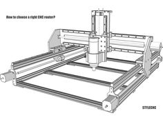 New CNC Router Design – joshendy projects Cnc Router Plans, Diy Cnc Router, Cnc Plans, Cnc Woodworking, 5 Axis Cnc, Arduino Cnc, Hobby Cnc, Small Cafe Design, Cnc Milling Machine
