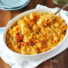 The Best Ever Mac And Cheese. The best tasting mac and cheese with an unbelievable secret ingredient! Vegan Cheese Recipes, Vegan Mac And Cheese, Delicious Vegan Recipes, Pasta Recipes, Macaroni And Cheese, Vegetarian Recipes, Cooking Recipes, Healthy Recipes, Mac Cheese