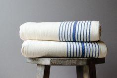 Blue Towels, Linen Towels, Linen Napkins, Cotton Towels, Hand Towels, Classic Blues, Turkish Bath Towels, Decorative Towels, Loom Weaving