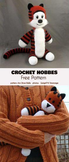 8ec3a3523b2 Crochet Amigurumi Hobbes Free Pattern. Háčkování Zdarma ...