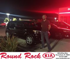 https://flic.kr/p/MtHgZg | Happy Anniversary to Kenneth on your #Kia #Soul from Jorge Benavides at Round Rock Kia! | deliverymaxx.com/DealerReviews.aspx?DealerCode=K449