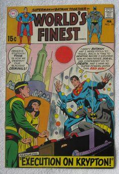 World's Finest Comics #191 (Feb 1970, DC) FN- 5.5