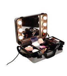 Beleuchteter Kosmetik Koffer - www.friseurzubehoer24.de
