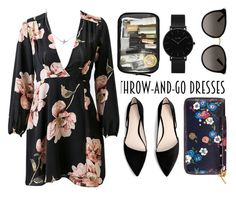 """Throw and go."" by tuttie-bronstein on Polyvore featuring мода, Minnie Grace, CLUSE, Gucci, MANGO, Tory Burch, casual, floralprint и jumpsuit"