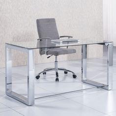 Mesa de escritorio Office, metal cromado · 249€                              …