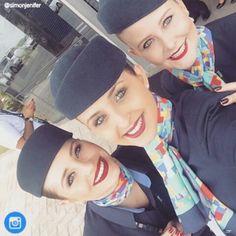 """@Simonjenifer ✈ ✈ ✈ ✈ ✈ ✈ ✈ ✈ ✈ ✈ ✈ ✈ ✈ ✈  #cabincrew #crewlove #crewlife #beautiful #airport #selfie #airplane #family #flightattendant #blueangels #pilot #azullinhasaereas #Brazil #airbus #embraer @blueangelsbr  _________________________________"" Photo taken by @comissariosdevoo on Instagram, pinned via the InstaPin iOS App! http://www.instapinapp.com (04/26/2015)"