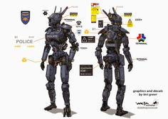 Chappie was a pretty big project for me (at Weta Workshop  obv), one that was a…