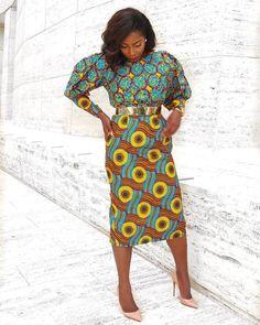 "868 Likes, 6 Comments - Ankara Styles By Mawuli (@ankarastyles) on Instagram: ""Credit to @ironyofashi  Dress: @sgtcclothing #ankarastyles"""