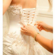 Inspiração vestido de noiva caseme