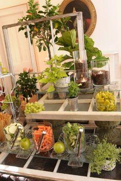 Food display, very creative
