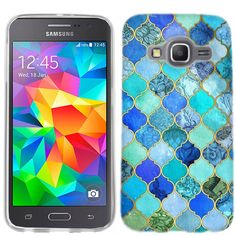 Samsung Galaxy Grand Prime Jade Marble cover - Cell Cases USA