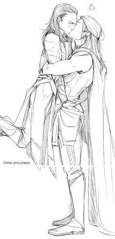 Thor x Loki.