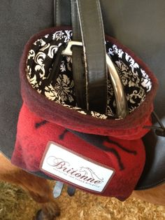 Review: Britonne Saddle Savers Products | Velvet Rider Stirrup Covers