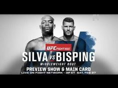 nice UFC Fight Night London LIVE on Feb. 27 at 3 p.m. ET on Fight Network Canada