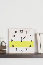 Big Ben Wooden Medium Wall Clock in Lime