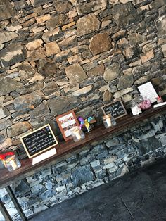 Guest book table in the Orangery at Hamper Sunday