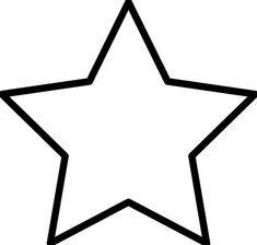 19 mejores imágenes de Estrellas para imprimir | Baby deco, Baby