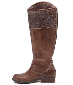 Indie Spirit by Corral Charlotte Riding Boot - love the laser cutouts at the top!