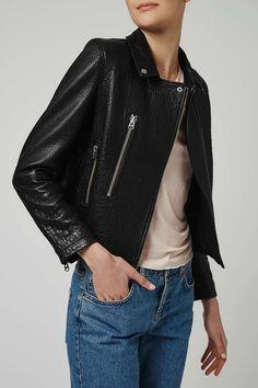 Ultimate Biker Jacket by Boutique Spy Outfit, Topshop Boutique, Coats For Women, Clothes For Women, Fashion Killa, Women's Fashion, Vintage Denim, Boutique Clothing, Biker