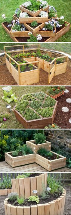 Uniquely Shaped Raised Bed Gardens That Will Leave You Speechless (and inspired)