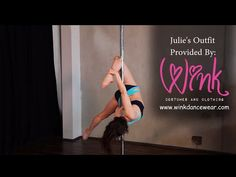 Free Online Pole Lesson Julie's Signature Transition - Cupid to Janeiro…