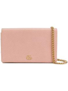 9425d076d7ff Shop Gucci GG Marmont mini chain bag Gg Marmont