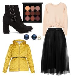 """""""Untitled #63"""" by foxtheimer on Polyvore featuring 'S MaxMara, MANGO, Valentino and MAC Cosmetics"""
