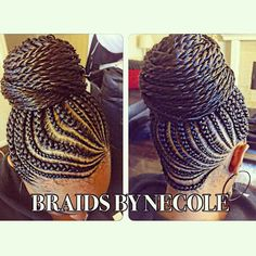 These are beautiful braids Pinner Those are pretty braids Image Size 736 x 736 Board Name Nattes,tte Latest Braided Hairstyles, African Braids Hairstyles, Ponytail Hairstyles, Girl Hairstyles, Natural Hair Braids, Braids For Black Hair, Natural Hair Styles, Braid Updo Black Hair, Black Braided Updo
