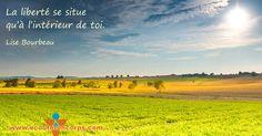 Citation de Lise Bourbeau