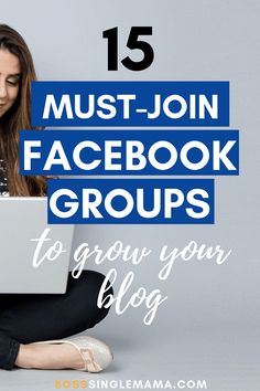 Looking for some new Facebook groups for bloggers to join to boost blog traffic? Check out these 15 Facebook groups for bloggers to grow your blog! #blogger #blogging #bloggingtips Join Facebook, About Facebook, How To Use Facebook, Social Media Apps, Social Networks, Digital Marketing Strategy, Content Marketing, Media Marketing, Marketing Guru