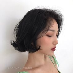 Best No Cost New Hairstyles Korean Color Ideas , , , Tips Who invented the Bob hair? Bob has been major the league of trend hairstyles for decades. Loose Curls Hairstyles, Bob Hairstyles For Fine Hair, Cool Haircuts, Trendy Hairstyles, Medium Hair Styles, Curly Hair Styles, Natural Hair Styles, Simple Ponytails, New Hair