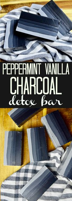 I know that winter is all about moisturizing but detox is something that I love all year long. These Vanilla Peppermint Charcoal Detox Bars leave your skin feeling awesome. Plus, homemade soaps are amazing gifts!