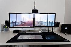 150 espaços de trabalho inspiradores utilizando Mac