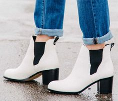 How to Wear Ankle Booties #theeverygirl