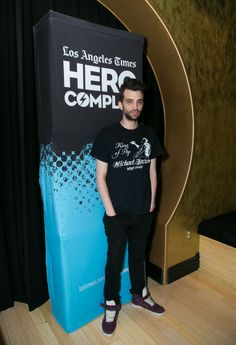 Jay Baruchel at the L.A. Times Hero Complex Film Festival for the 'How To Train Your Dragon 2' Screening. Styled by Karla Welch. Grooming by Kim Verbeck.